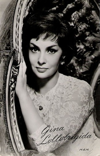 Gina Lollobrigida by Truus, Bob & Jan too!