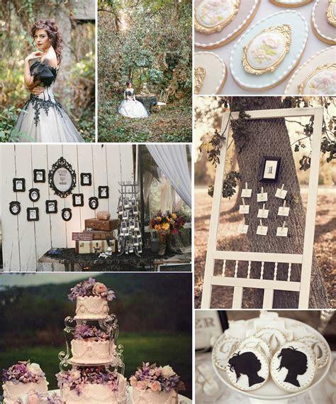 Wedding inspiration:Victorian vintage wedding theme