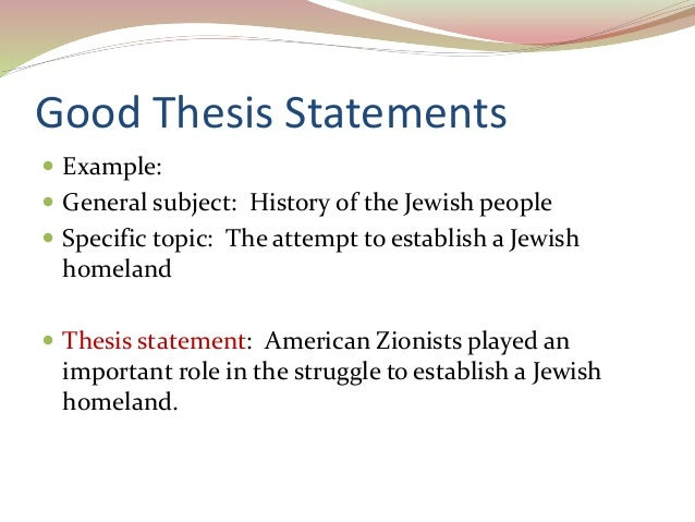 how to write a strong thesis statement easybib blog