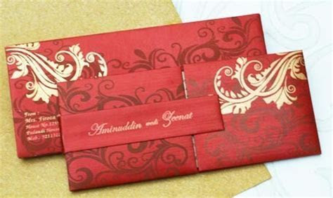 Unconventional Indian Wedding Invitations   Invitation