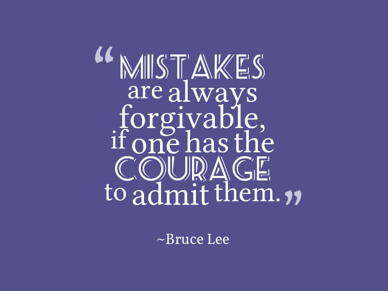 Quotes About Mistakes Awesome Quotes About Life