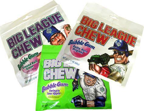 Big League Chew Shredded Bubble Gum 12ct Assorted Flavors