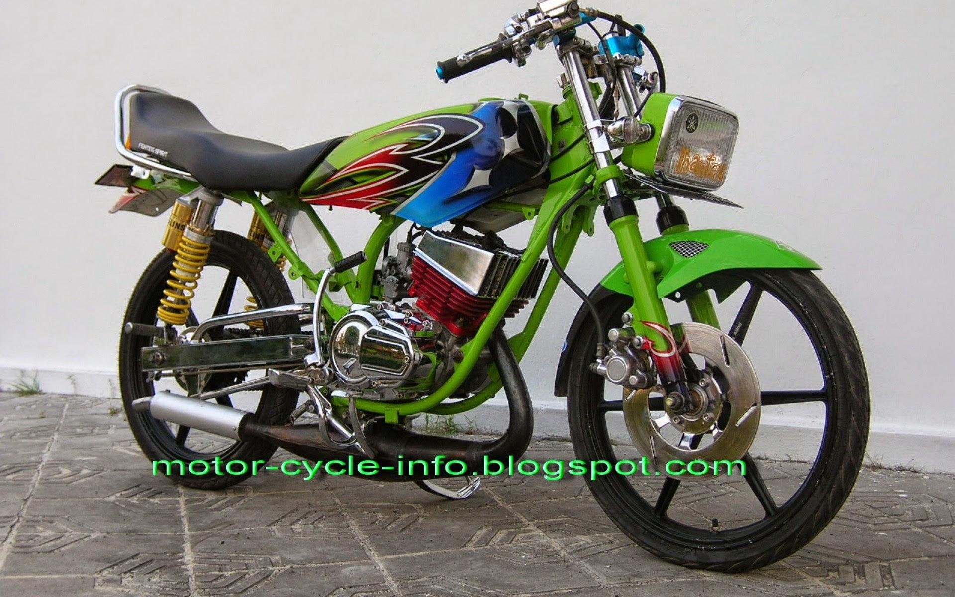 58 Modifikasi Motor Honda Blade Drag Terkeren Sumped Motor