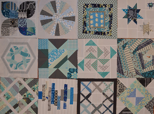 4 x 5 Modern Quilt Bee Blocks