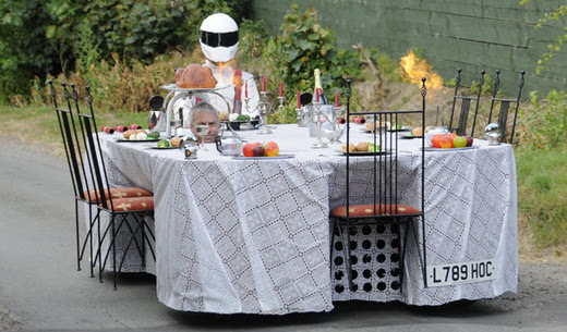 Fast Food' - A Dining Table With Serious Wheels! - Kids News Article