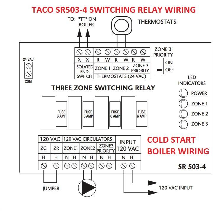 18 Unique Taco Sr502 Wiring Diagram