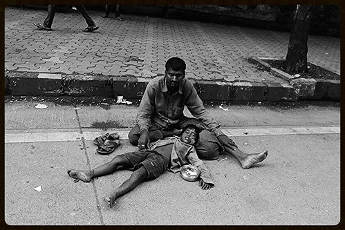 my conscience tells me dont shoot beggars it upsets the metabolism of rich people ,,, by firoze shakir photographerno1