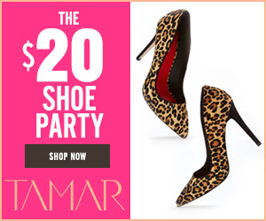 All Shoes Are $20!
