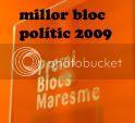 millor bloc polític maresmenc 2009