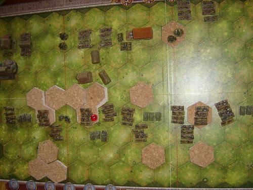 Aerial Shot - Battle of Phosphate Plant