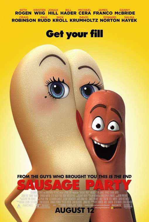 Resultado de imagen de sausage party movie poster