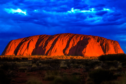 Uluru Sunset HDR