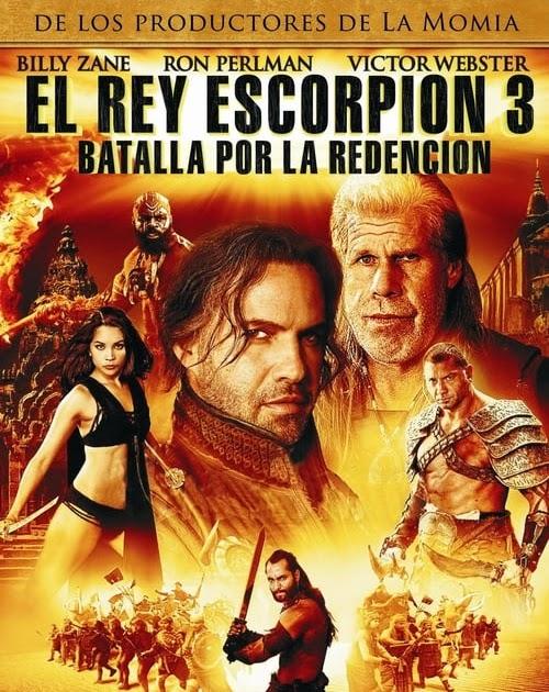 El rey Escorpión 3: Batalla por la redención (2012