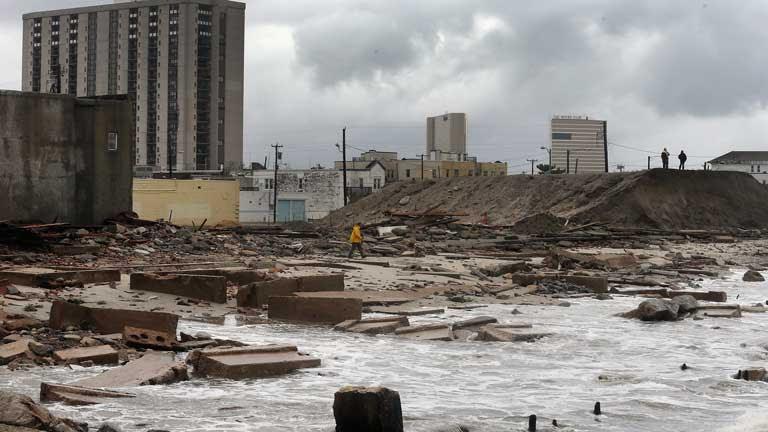 """El huracán """"Sandy"""" deja al menos 29 muertos  en los estados del este de EE.UU"""