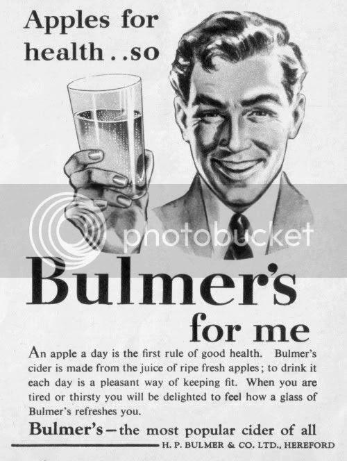 bulmer's vintage ad