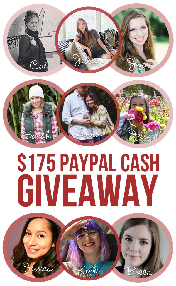$175 Paypal Cash Black Friday Giveaway hosted by Jenn at hellorigby!