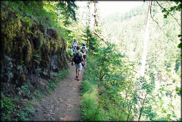 Hike to Triple Falls