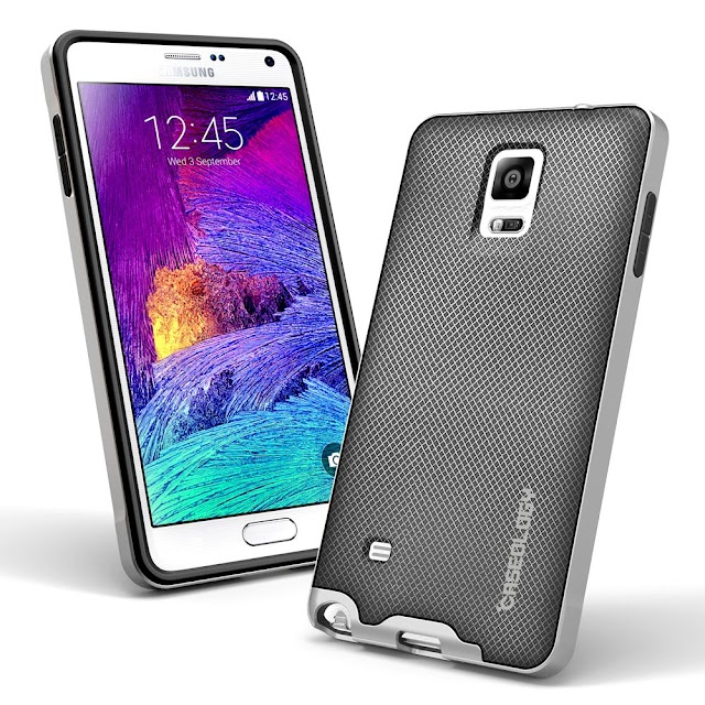 Galaxy Note 4 Case, Caseology [Bumper Frame]