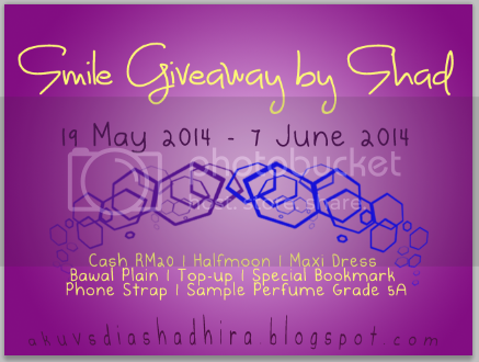 Smile Giveaway by Shad