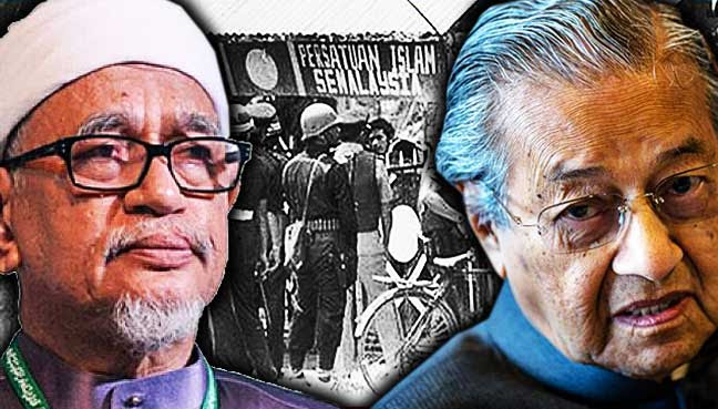 Memali,-polis,-Dr-Mahathir,-Hadi-Awang