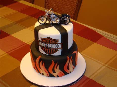 Harley Davidson Cake   Awesome Cakes   Cake, Birthday cake