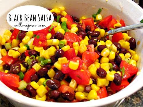 Black-bean-salsa #callmepmc