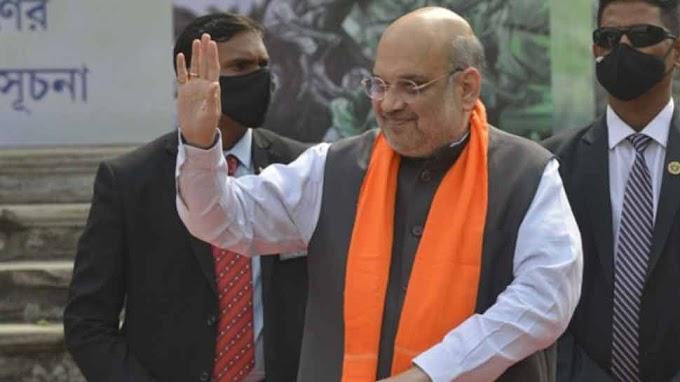 गृह मंत्री Amit Shah ने अहमदाबाद में किया मतदान, गुजरात के 6 नगर निगमों में वोटिंग जारी