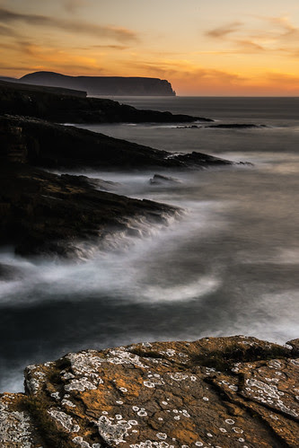 Yesnaby Sunset - Orkney by MJSFerrier