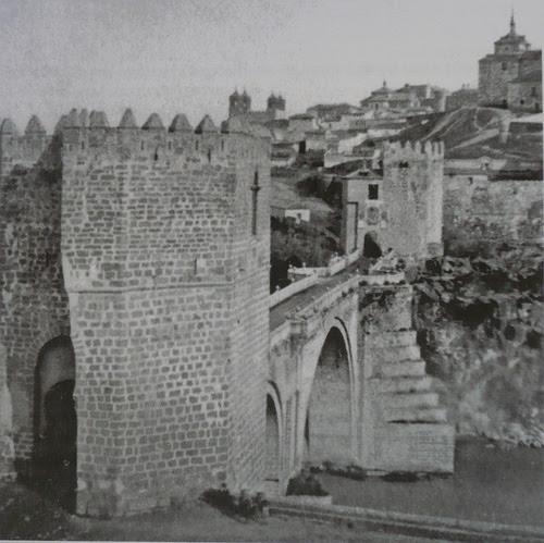 Puente de San Martín antes de 1864, Toledo (España)