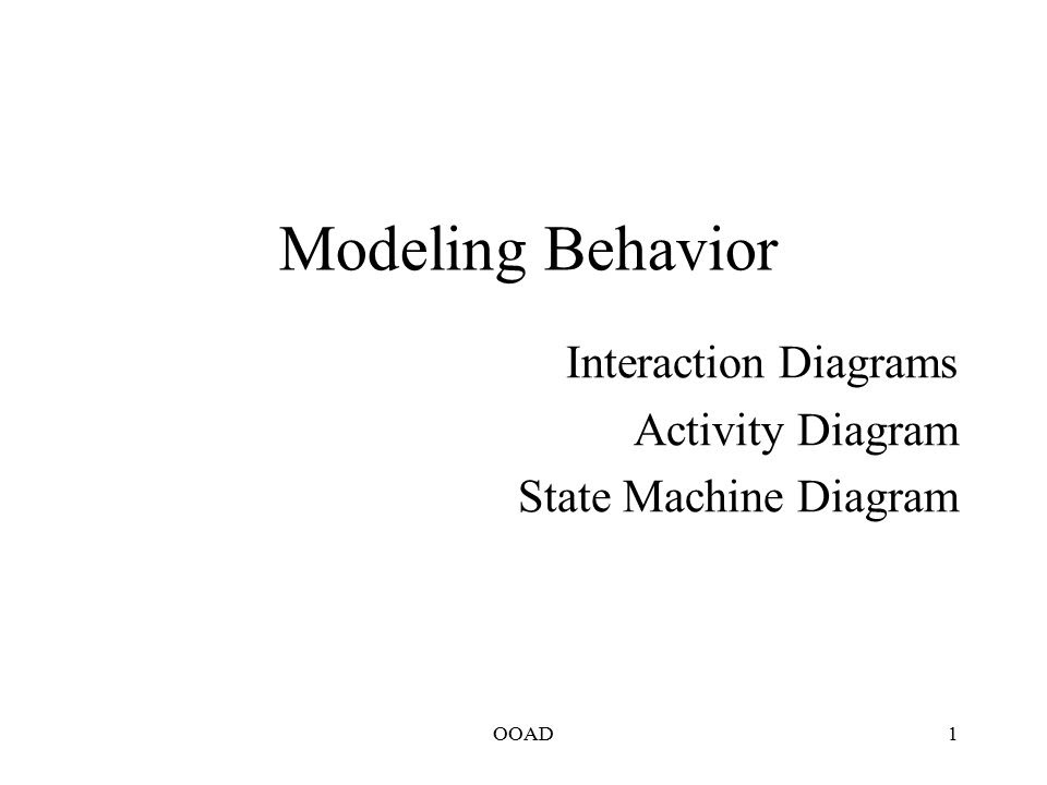 Interaction Diagrams Activity Diagram State Machine Diagram Ppt Video Online Download