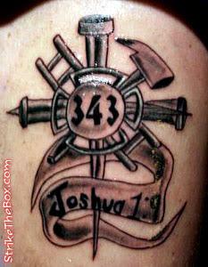 Spiritual Firefighter Tattoos