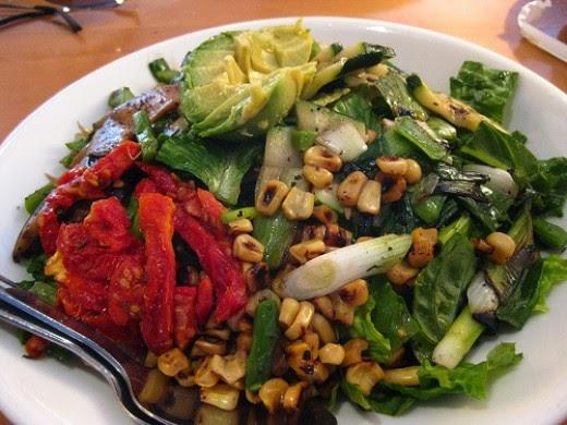 California Pizza Kitchen Grilled Veggie Salad