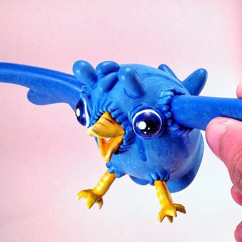 Twitter bird Dudebox