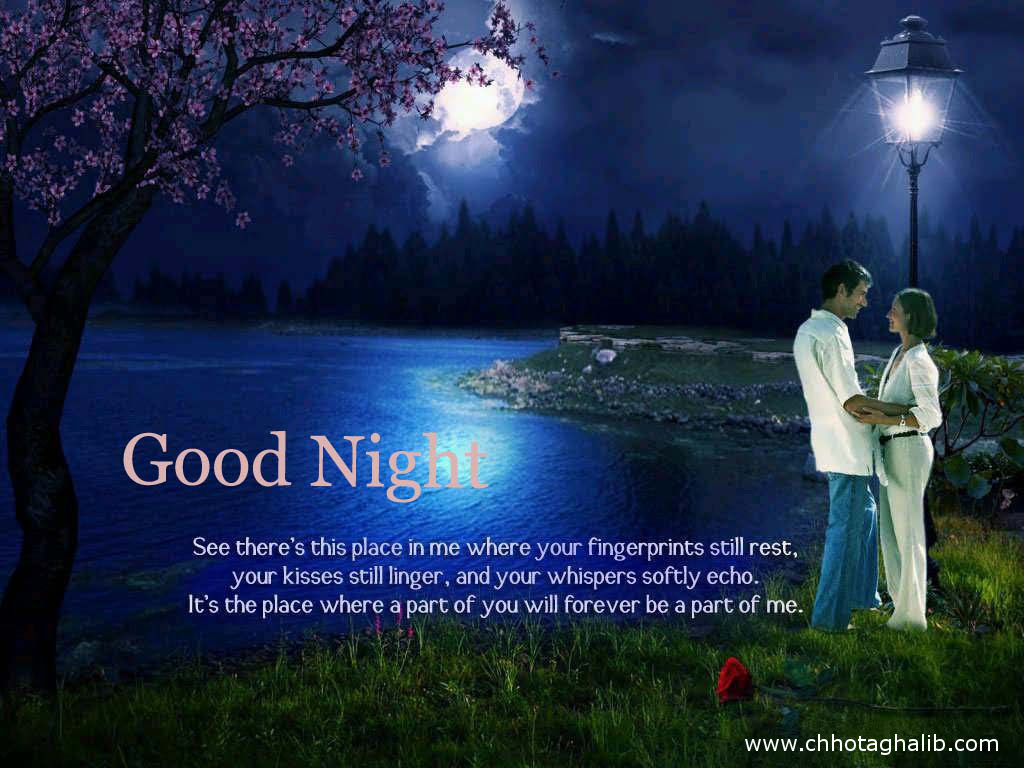 Elegant Good Night Image With Love Couple Top Colection For