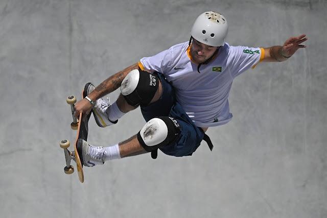 Brasil é prata no Skate com Pedro Barros