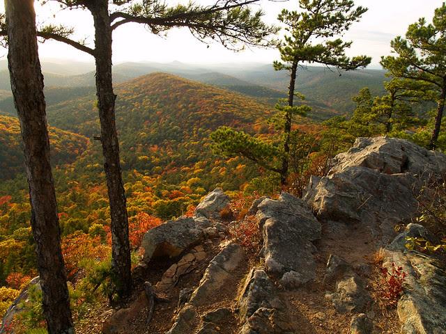 The peak of Flatside Pinnacle