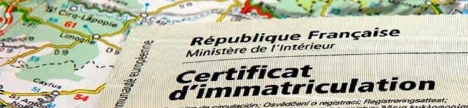 Immatriculation Carte Grise Démarches Administratives