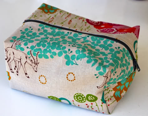image tutorial diy toiletries bag toiletry pouch