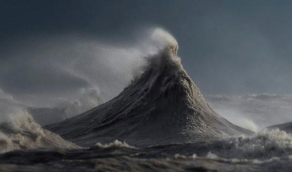 perierga.gr - Λίμνη μοιάζει... με ωκεανό!