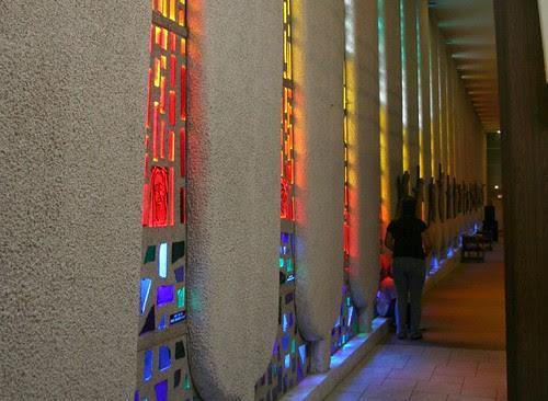 Saint John Bosco Church - side aisle