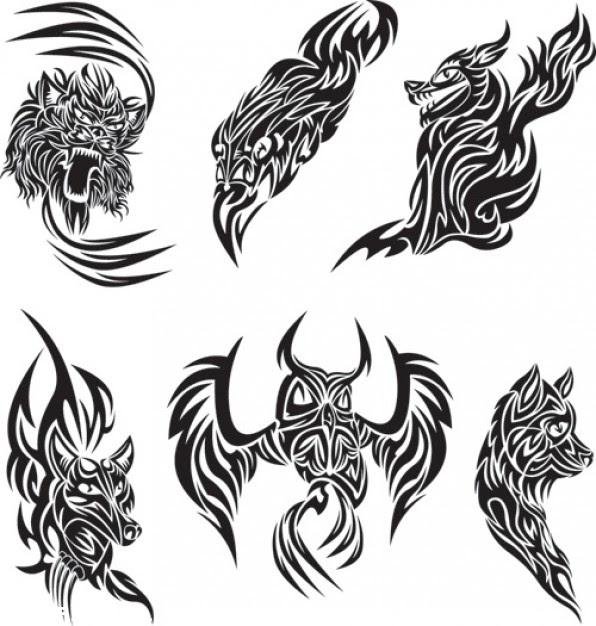 Diseños Tribales De Animales Tatuajes 123