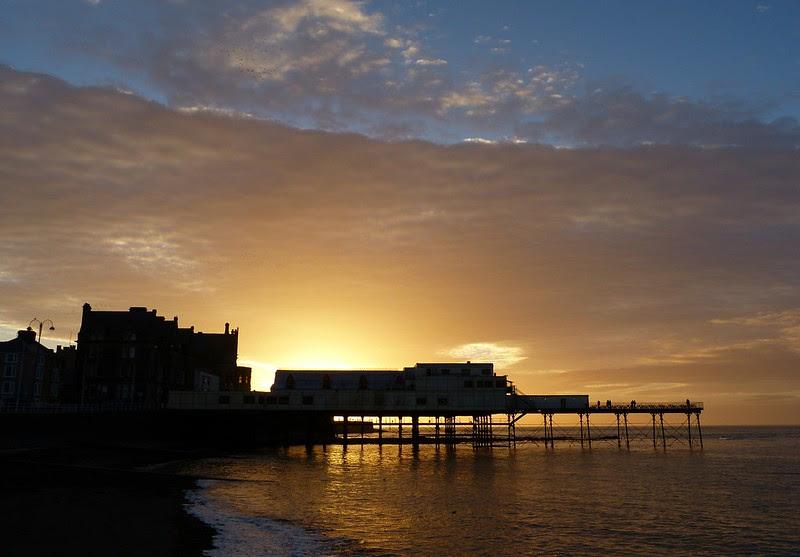 P1060335 - Aberystwyth Pier at sunset