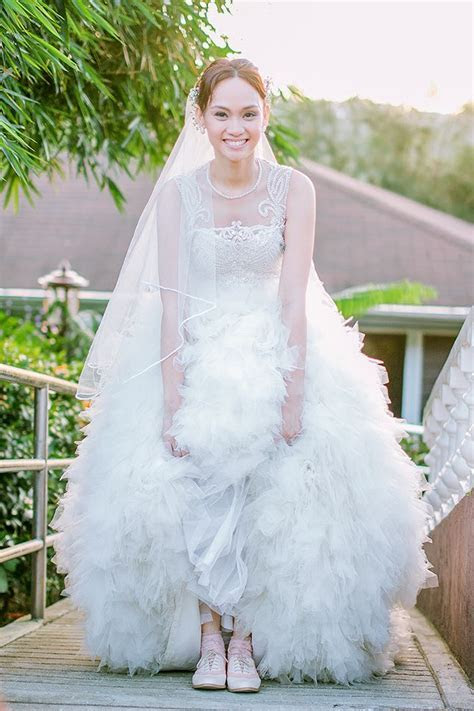 cute #Filipina bridal dress   Filipina Bride   Filipino