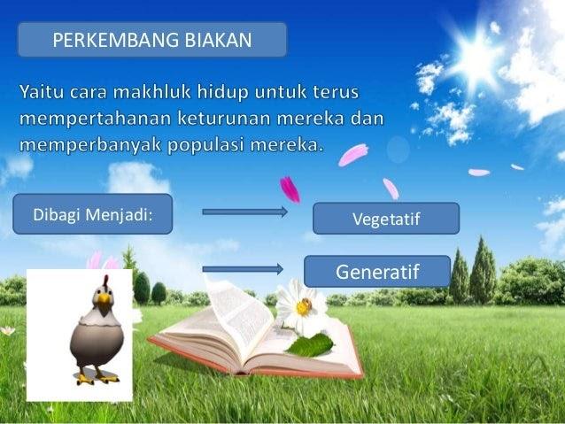 Contoh Makhluk Hidup Vegetatif Dan Generatif - Contoh Emp