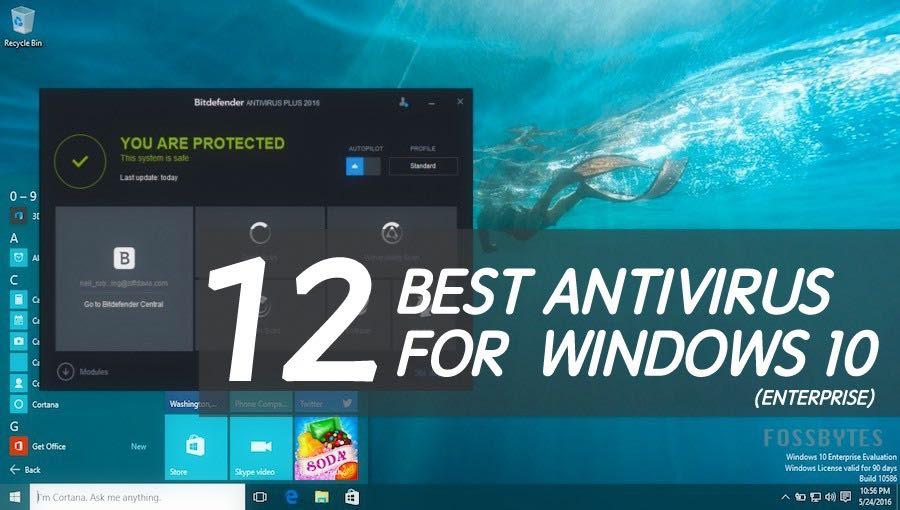 best antivirus windows 10 enterprise