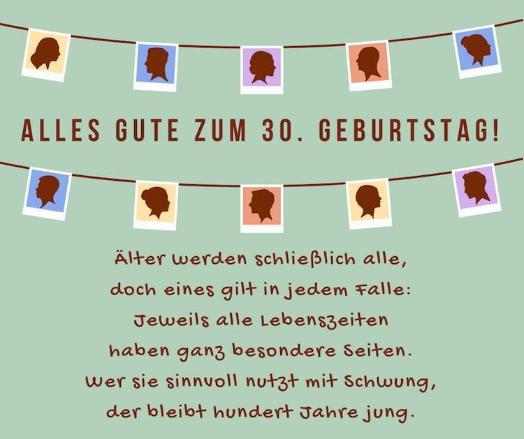 Zusan Blog: Glückwünsche Zum 30. Geburtstag Frau Kostenlos