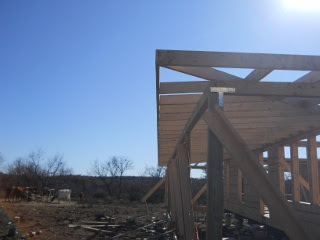Porch Roof Rafters with Face Plate