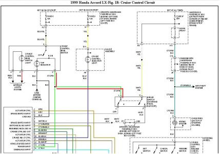Wiring Diagram For 1999 Honda Accord