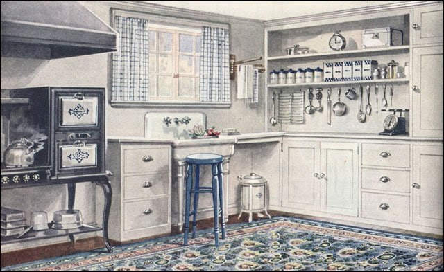 The Little Red Chair: The 1920's Kitchen Tour on