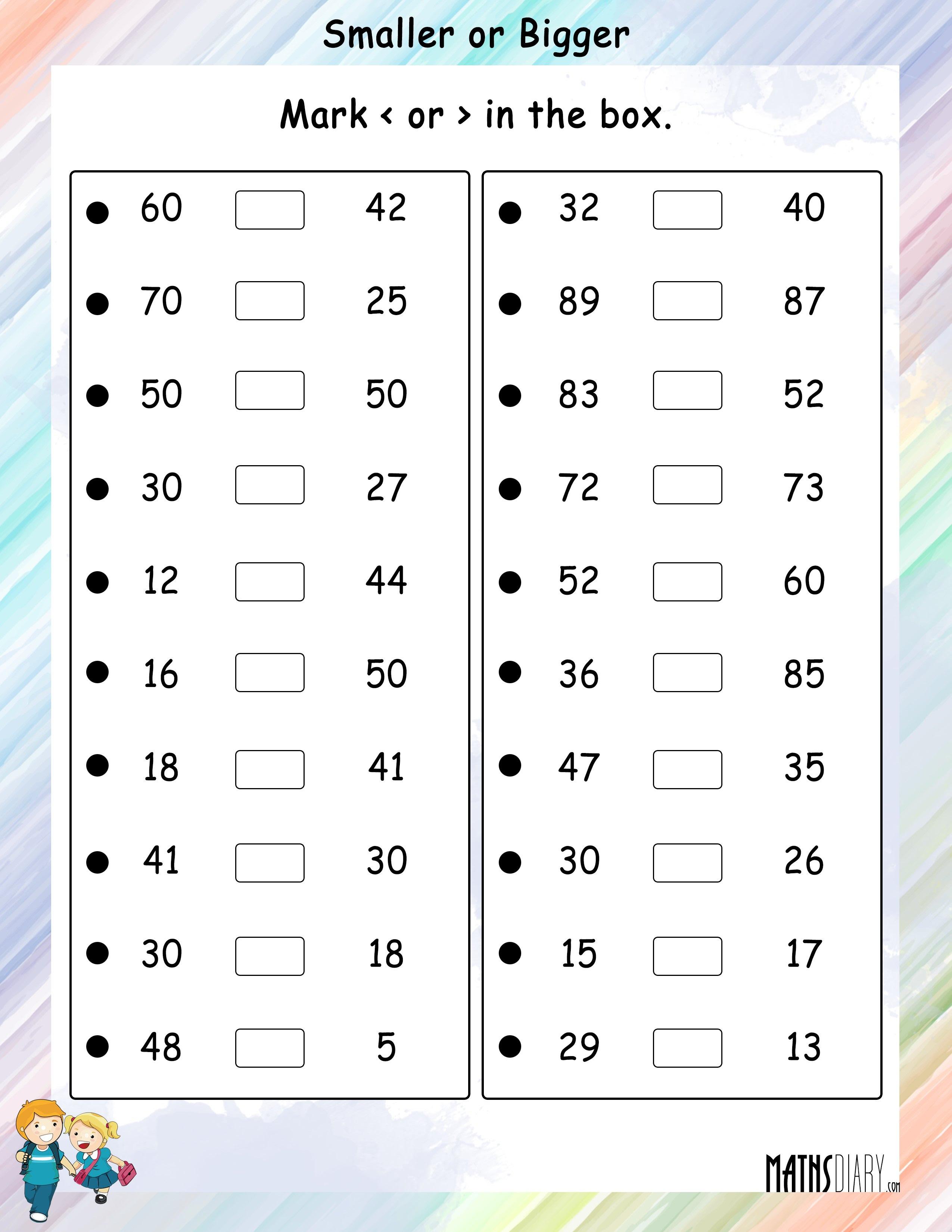 Paring – Grade 1 Math Worksheets Page 2